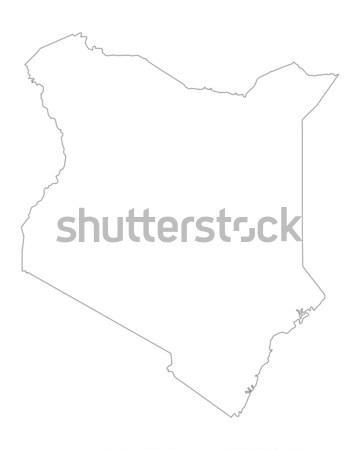 Map of Gran Canaria Stock photo © rbiedermann