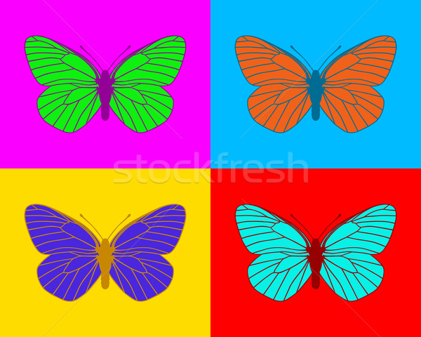 Butterflies Stock photo © rbiedermann