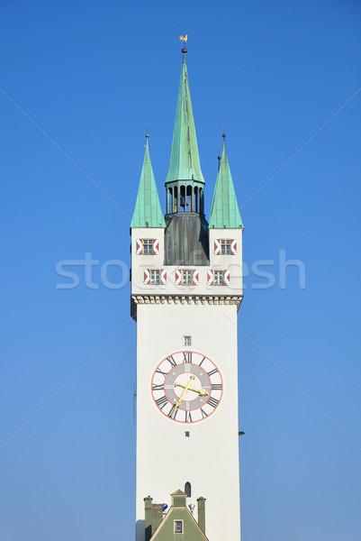 Tower in Straubing, Bavaria Stock photo © rbiedermann