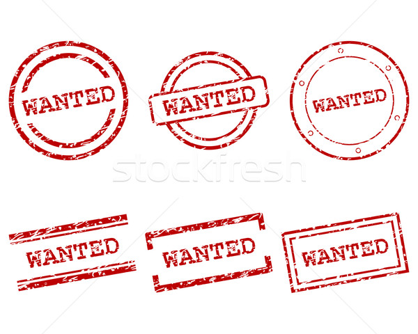 Wanted stamps Stock photo © rbiedermann