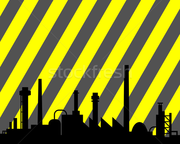Industrial background Stock photo © rbiedermann