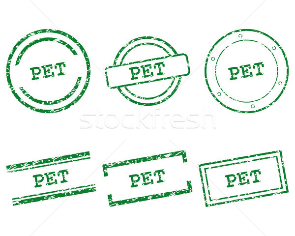Pet stamps Stock photo © rbiedermann