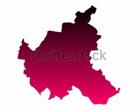 地図 ハンブルク 市 背景 ピンク 行 ストックフォト © rbiedermann