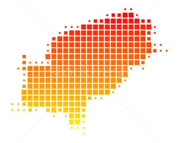 Stock photo: Map of Ibiza