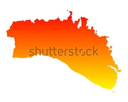 地図 エクアドル 旅行 ベクトル ストックフォト © rbiedermann