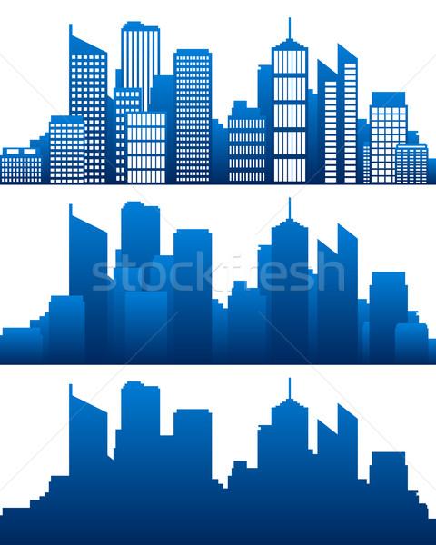 City skyline Stock photo © rbiedermann
