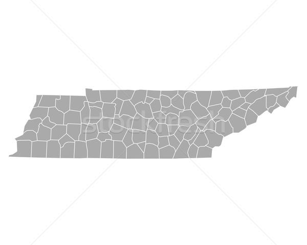 Pokaż Tennessee tle line wektora ilustracja Zdjęcia stock © rbiedermann