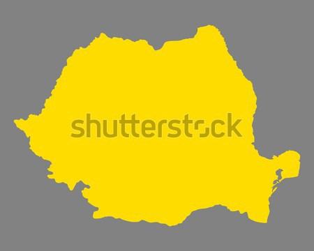 Kaart Senegal reizen vector Stockfoto © rbiedermann