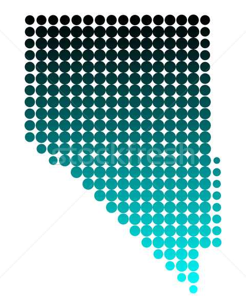 Map of Nevada Stock photo © rbiedermann