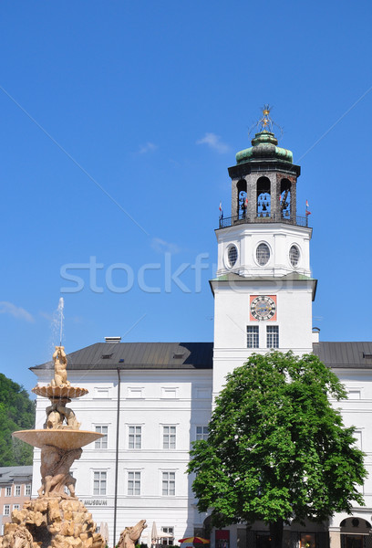 Carillon tower of New Residence in Salzburg Stock photo © rbiedermann