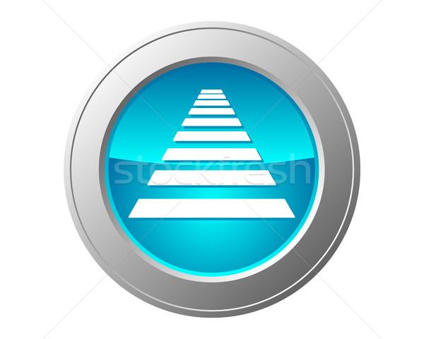Przejście dla pieszych przycisk drogowego Internetu internetowych chodzić Zdjęcia stock © rbiedermann