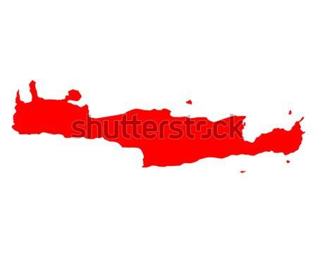 Térkép Dél-Ausztrália háttér vonal vektor Ausztrália Stock fotó © rbiedermann