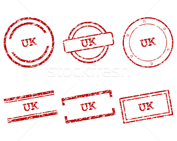 UK stamps Stock photo © rbiedermann