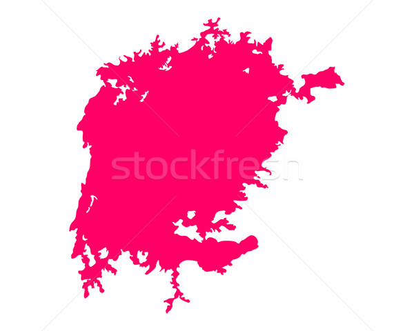 Map of Lake Victoria Stock photo © rbiedermann