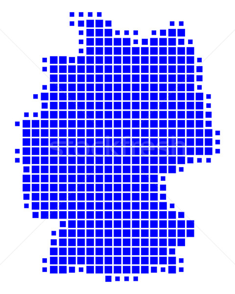 Map of Germany Stock photo © rbiedermann