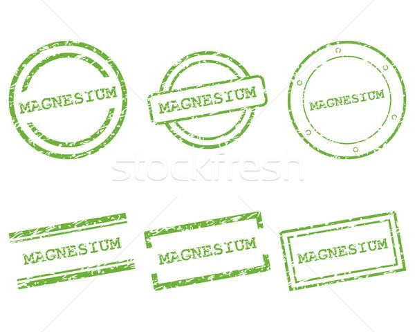 Magnez znaczków zakupy list pieczęć graficzne Zdjęcia stock © rbiedermann