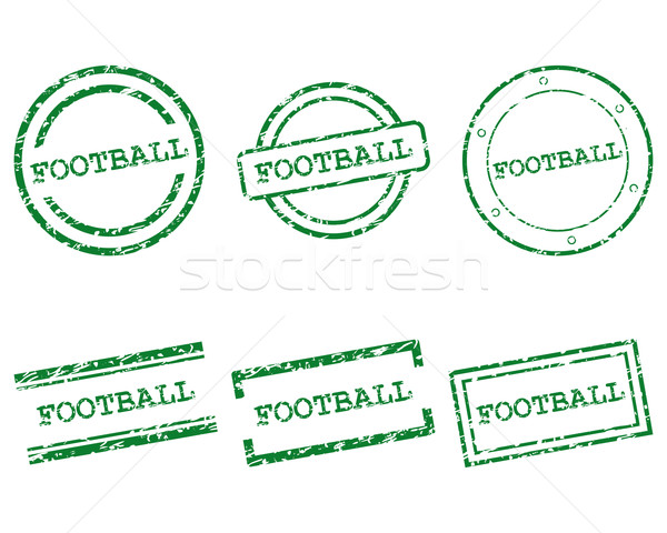 Football stamps Stock photo © rbiedermann