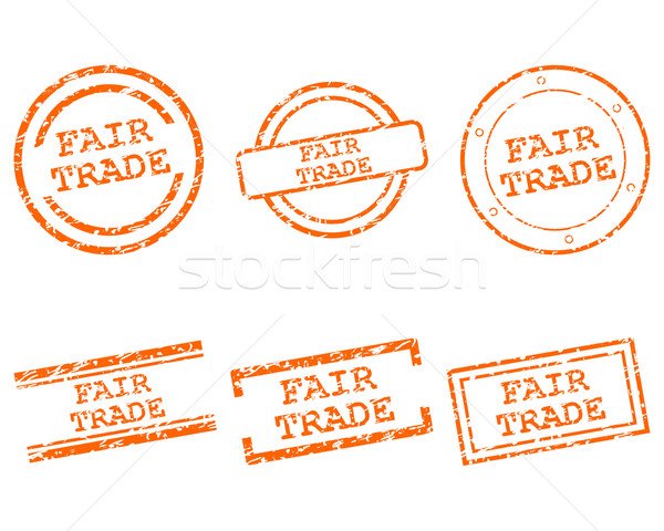Fair trade stamps Stock photo © rbiedermann