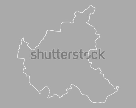 Map of Hamburg Stock photo © rbiedermann