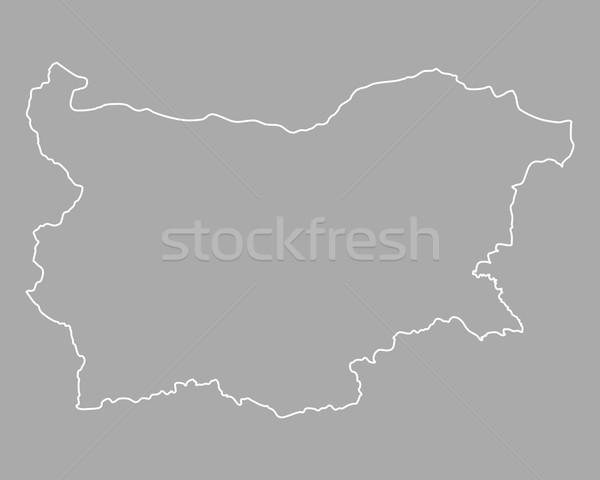 Pokaż Bułgaria tle odizolowany ilustracja Zdjęcia stock © rbiedermann