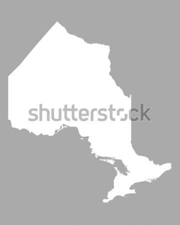 Stock photo: Map of Botswana