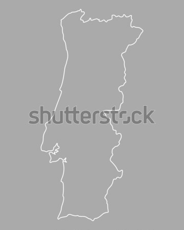 Map of Sal Stock photo © rbiedermann
