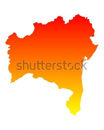 Kaart Litouwen reizen vector Stockfoto © rbiedermann