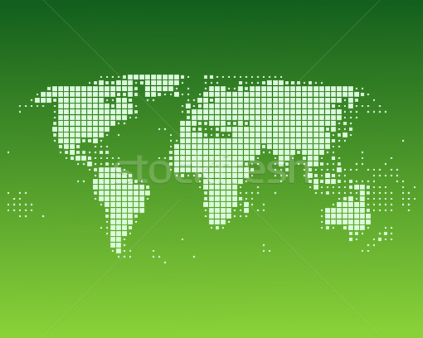 World map Stock photo © rbiedermann