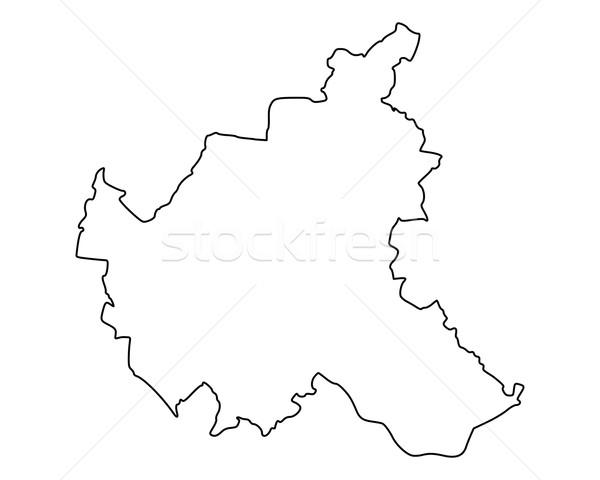 地図 ハンブルク ベクトル ドイツ 孤立した グレー ストックフォト © rbiedermann