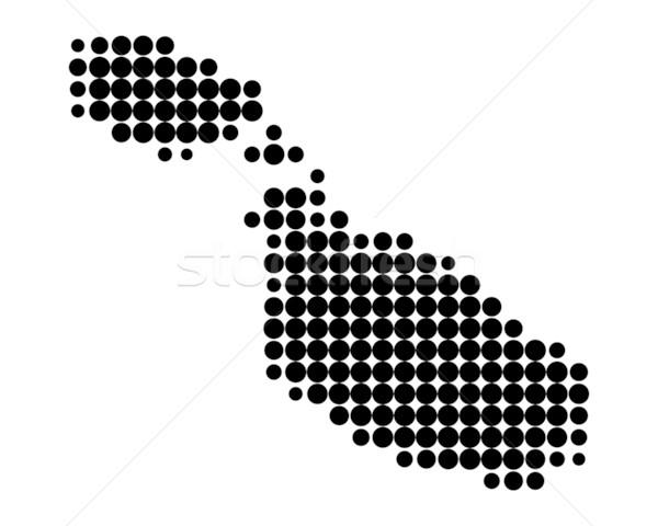 Foto stock: Mapa · Malta · patrón · círculo · punto