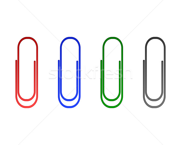 Paperclips Stock photo © rbiedermann