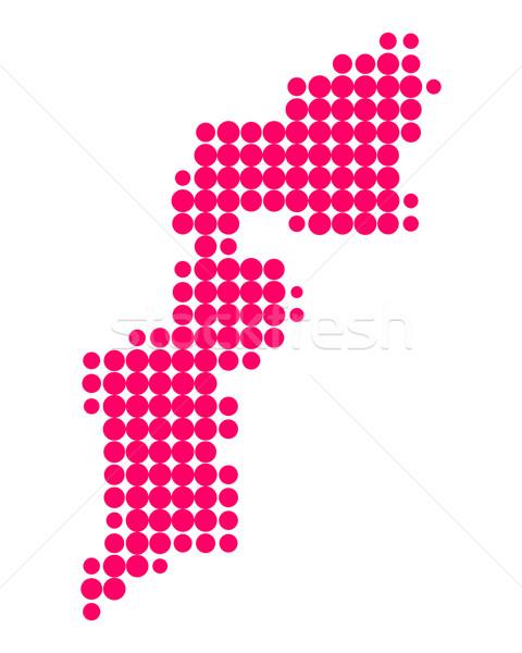 Map of Burgenland Stock photo © rbiedermann