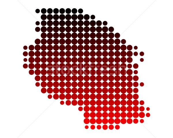 Pokaż Tanzania wzór kółko punkt ilustracja Zdjęcia stock © rbiedermann