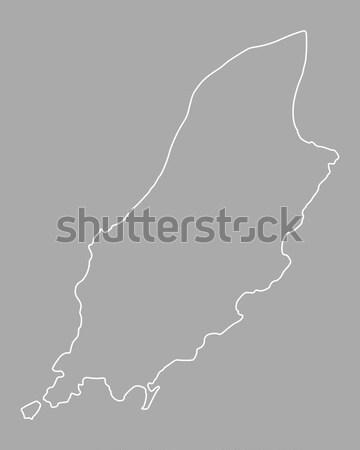 Map of El Hierro Stock photo © rbiedermann
