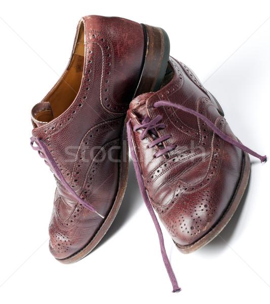 обувь используемый классический человека моде магазин Сток-фото © rbouwman