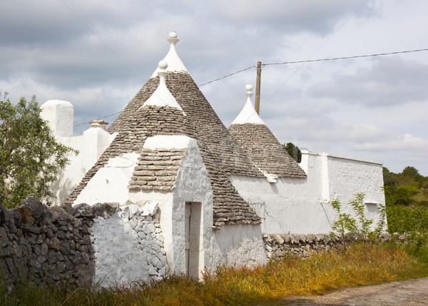 мало домах юг Италия крыши Сток-фото © rbouwman
