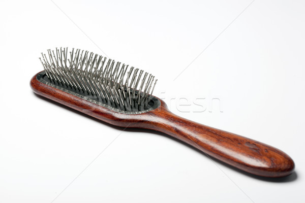 щетка новых волос подробность моде красоту Сток-фото © rbouwman