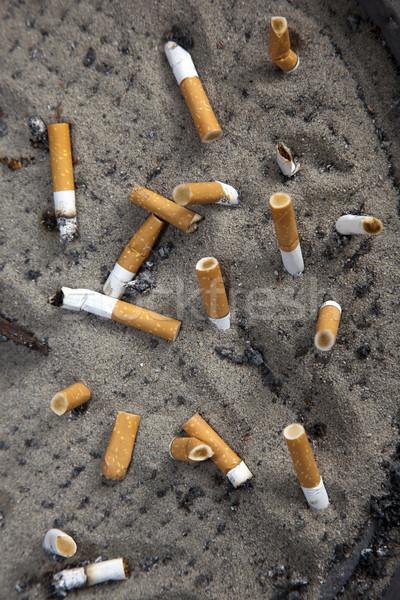 дым смерти подростку сигарету Паб прикладом Сток-фото © rbouwman