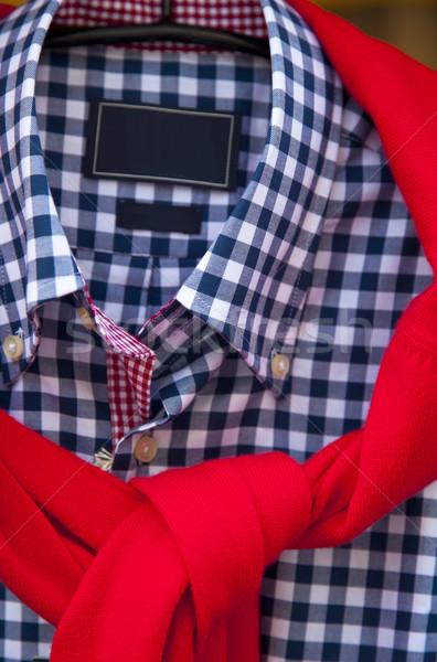 рубашку отображения магазине интерьер рынке одежды Сток-фото © rbouwman