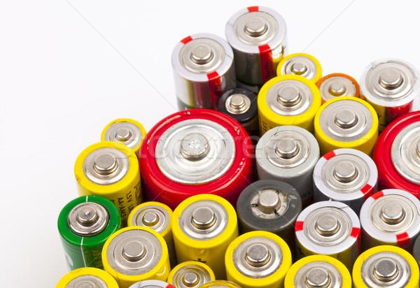 batteries Stock photo © rbouwman