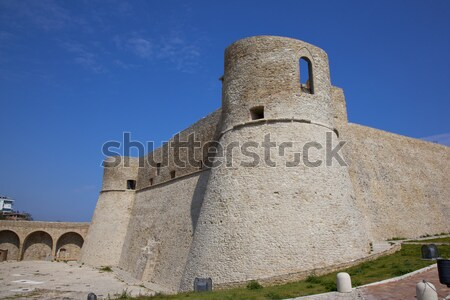 башни старые юг Италия небе здании Сток-фото © rbouwman