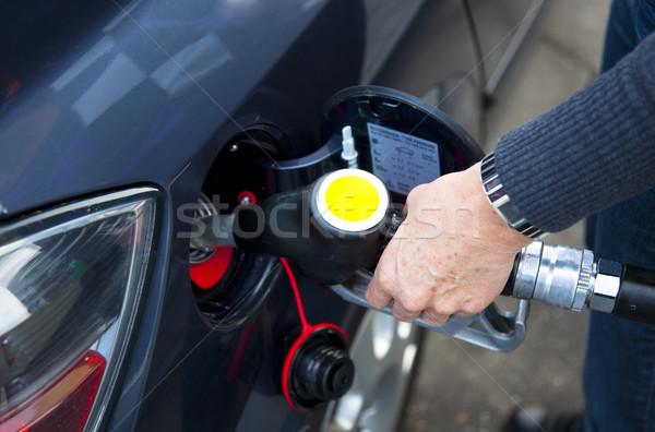 энергии газ загрязнения цистерна Cap топлива Сток-фото © rbouwman