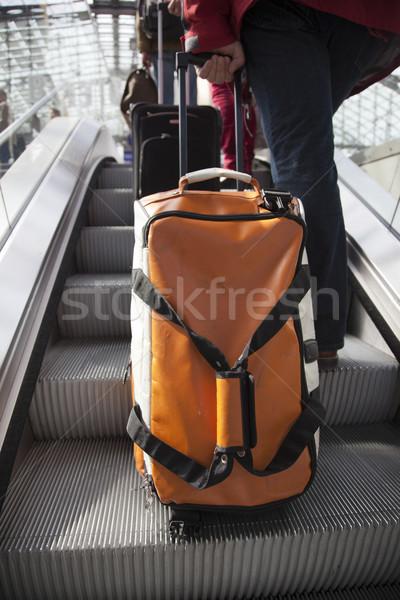 Сток-фото: сумку · железная · дорога · станция · технологий · праздник · быстро
