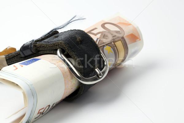 деньги пояса фон золото белый наличных Сток-фото © rbouwman