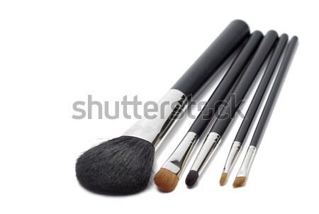 щетка лице черный белый инструментом профессиональных Сток-фото © rbouwman