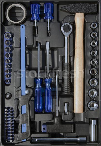 Сток-фото: инструменты · набор · окна · стороны · работу · домой
