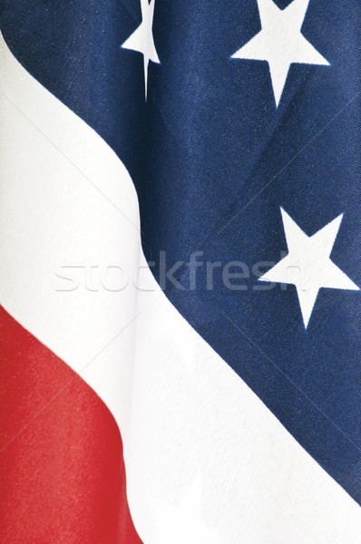 Close-up of American flag Stock photo © rcarner