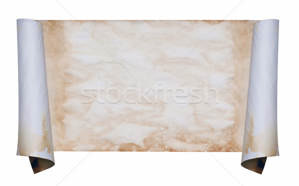 Old vintage looking scroll Stock photo © rcarner