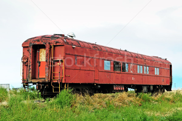 Old forgotten railcar Stock photo © rcarner
