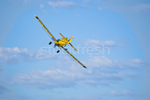 Backend of a crop duster Stock photo © rcarner